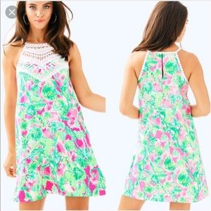 Lilly Pulitzer Pearl Soft Shift Dress💋Brand new!!